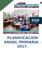 Planificación Anual 2017 Primer Grado
