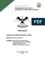 Monografía Procesal Penal
