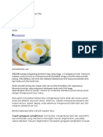 fakta telur