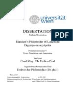 Dignaga's Philosophy of Language Dignaga on Anyapoha Copy