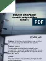 Bab4-TeknikSampling