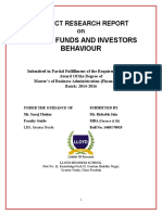 Mutual Funds and Investors Behaviour Finance Llyod Research