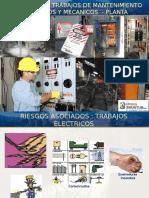 Seguridad en Trabajos Electricos Mecanicos Planta