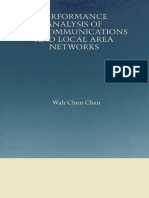 Wah Chun Chan Performance Analysis of Telecommun