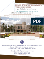 Course Brochure 2016~2017