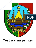 Test Warna Printer