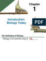 Bio 110 Cal Poly Pomona Lecture 1