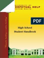 h School Handbook