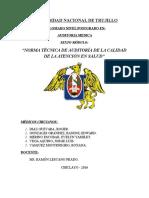 Modulo 6 - Auditoria Medica
