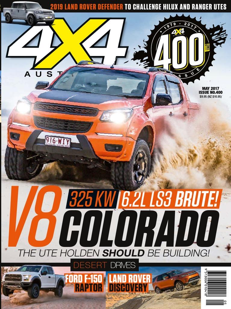 4x4 Magazine Australia Diesel Engine Anti Lock Braking System Colorado 3 5l Parts Diagram