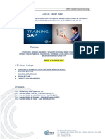 TRAINING Curso-Taller SAP 01 de Abril