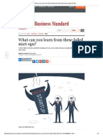 What Can You Learn From These Failed Start-ups_ _ Business Standard News