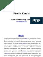 Find It Kerala-hotels,restauarants,bouique,beauty parlors,house boats kerala