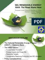 National Renewable Energy Program