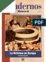 Cuadernos Historia 16, Nº 028 - La Reforma en Europa