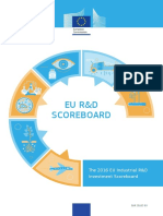 The 2016 EU Industrial R&D Investment Scoreboard