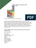 Paint Pigment Solvent Coating Emulsion Formulations Book