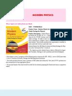 12. Modern Physics