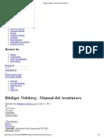 Rüdiger Nehberg - Manual Del Aventurero