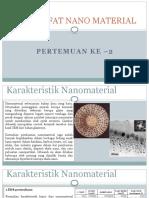 Sifat-sifat Nano Material 1