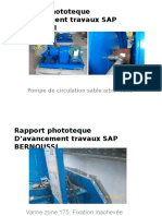 Rapport Phototeque D'Avancement Travaux SAP BERNOUSSI
