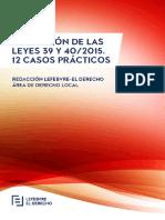 eBook Aplicacion de Las Leyes 39 y 40 2015