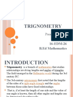 Ex 4 Trignometry Ppt