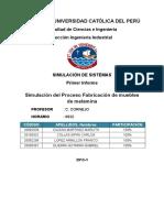 Informe N°1 Simulación de Sistemas