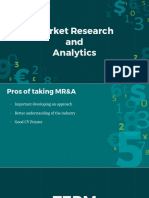 Market Research and Analytics