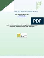 R-ACT   Corporate Profile