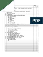 Cek List Pemeriksaan Fisik BBL