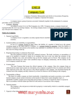 UNIT- II Company Law .pdf