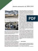 Crisis de La Industria Automotriz de 2008-2010