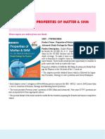 5. Properties of Matter & Shm