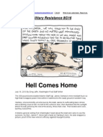 Military Resistance 8G16 Hell Comes Home
