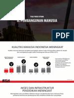 Program Jokowi - Fokus Utama Pembangunan Manusia