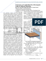 Study of Thermal Performance of Longitudinal Fin of Rectangular Profile for Different Materials