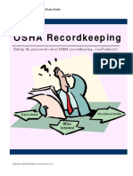 9. OSHA Record Keeping