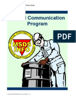 6. Hazard Communication Program