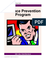 21. Violence Prevention Program