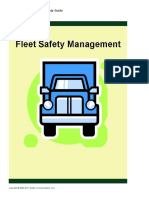 20. Fleet Safety Managements