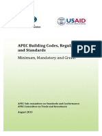 APEC Building Laws and Standards