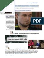 Bandy zydoskie w strukturach Policji terroryzuja Polakow Sebastian Nadolski Sebastian K. 20170417 ME SOWA Zazalenie 9.12.2010