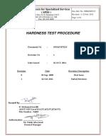 Hardness Test Procedure - PDF