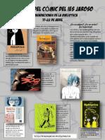 Recomendaciones Cómic Biblioteca Escolar