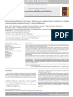 Management of Patients With Type 2 Diabetes and Multiple Chronic Conditions - A Delphi Consensus of the Spanish Society of Internal Medicine