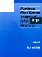 Crisfield Volume 1 Non Linear Finite Element Analysis of Solids and Structures