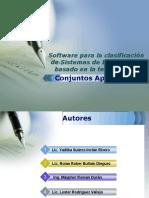 Software Para La Clasificación de Sistemas de Información