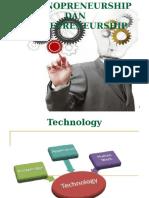 Bab III. Technopreneursip Dan Entrepreneurship