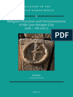 Aude Busine (Ed.), Religious Practices and Christianization of the Late Antique City (4th–7th c.)